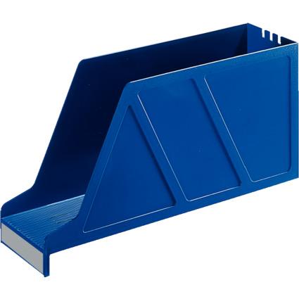 LEITZ Stehsammler Standard, für Einstellmappen, blau