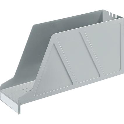 LEITZ Stehsammler Standard, für Einstellmappen, grau