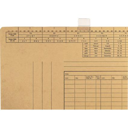 LEITZ Vollsichtreiter, (B)25 mm, 3-zeilig beschriftbar