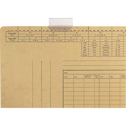 LEITZ Vollsichtreiter, (B)50 mm, 3-zeilig beschriftbar