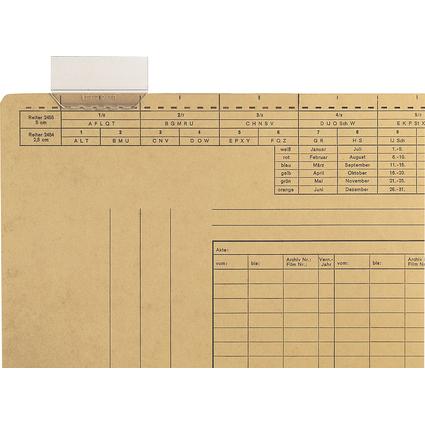 LEITZ Vollsichtreiter, (B)60 mm, 4-zeilig beschriftbar