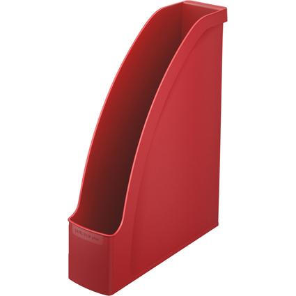 LEITZ Stehsammler Plus, DIN A4, Polystyrol, rot