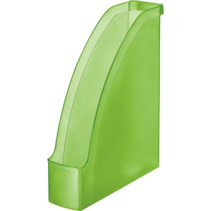 LEITZ Stehsammler Plus, DIN A4, Polystyrol, grün frost