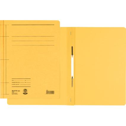 LEITZ Schnellhefter Rapid, DIN A4, Manilakarton, gelb