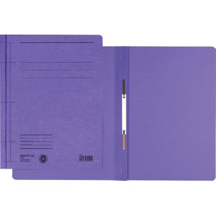 LEITZ Schnellhefter Rapid, DIN A4, Manilakarton, violett