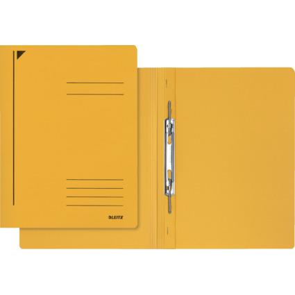 LEITZ Spiralhefter, DIN A4, Colorspankarton, gelb