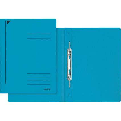 LEITZ Spiralhefter, DIN A4, Colorspankarton, blau