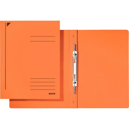 LEITZ Spiralhefter, DIN A4, Colorspankarton, orange
