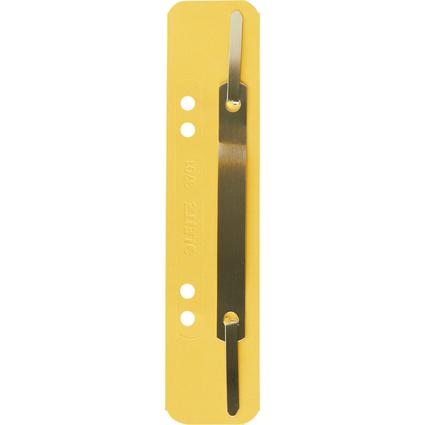 LEITZ Heftstreifen, 35 x 158 mm, Colorspankarton, gelb