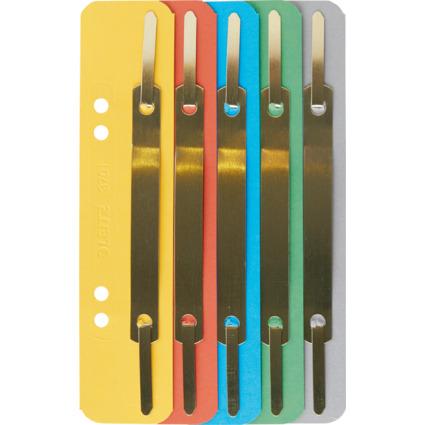 LEITZ Heftstreifen, 35 x 158 mm, Colorspankarton, sortiert