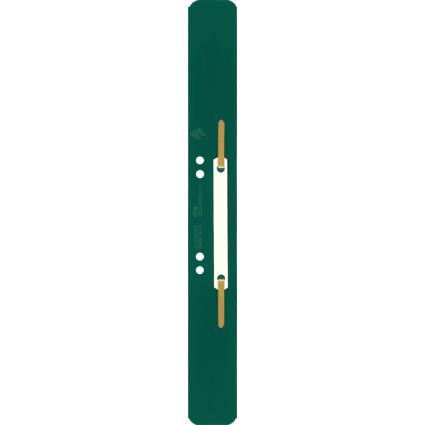 LEITZ Heftstreifen, 35 x 310 mm, PP-Folie, grün