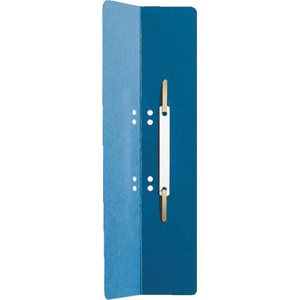 LEITZ Heftrücken, 60 x 305 mm, Manilakarton, blau