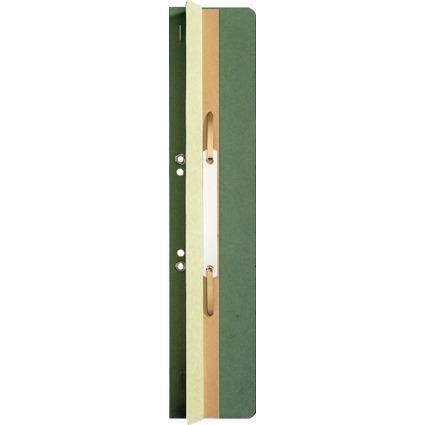 LEITZ Heftrücken, 65 x 305 mm, Manilakarton, grün, mit