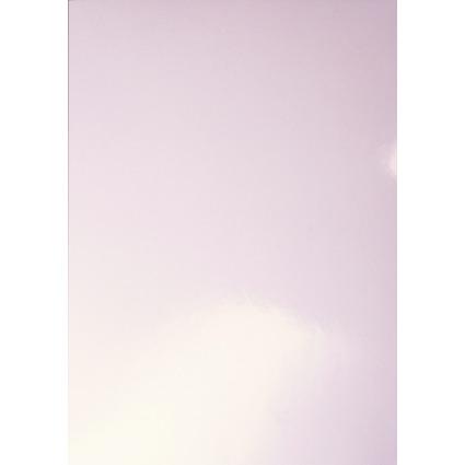 LEITZ Deckblatt, glänzend, DIN A4, weiß