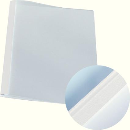 LEITZ Thermobindemappe Leinenoptik, DIN A4, 1,5 mm, weiß