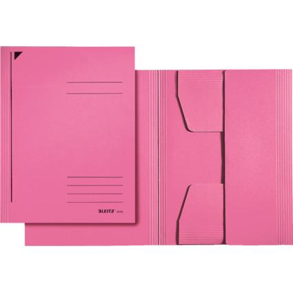 LEITZ Jurismappe, DIN A4, Colorspankarton 320 g/qm, pink