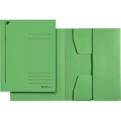LEITZ Jurismappe, DIN A4, Colorspankarton 320 g/qm, grün