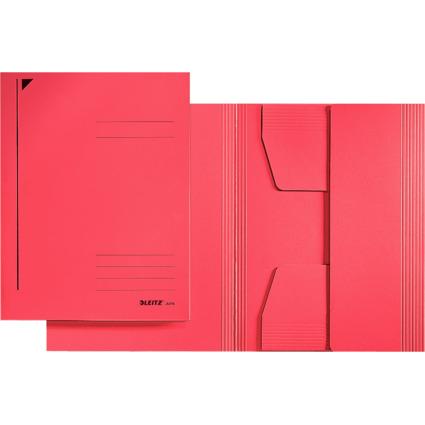 LEITZ Jurismappe, DIN A5, Colorspankarton 320 g/qm, rot