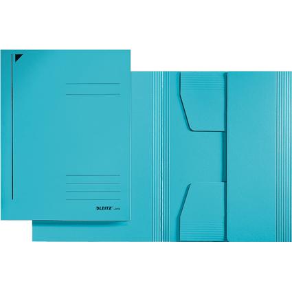 LEITZ Jurismappe, DIN A5, Colorspankarton 320 g/qm, blau