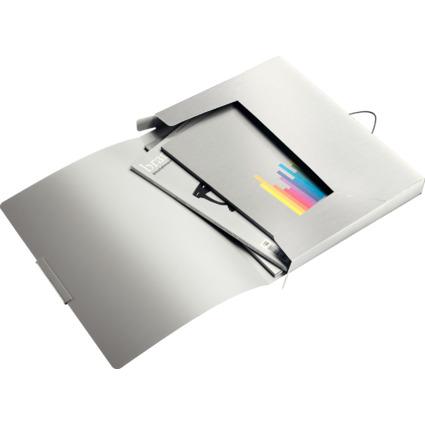 LEITZ Ablagebox Style, DIN A4, PP, arktik-weiß
