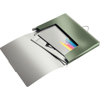 LEITZ Ablagebox Style, DIN A4, PP, seladon-grün