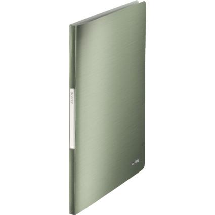 LEITZ Sichtbuch Style, A4, PP, mit 20 Hüllen, seladon-grün
