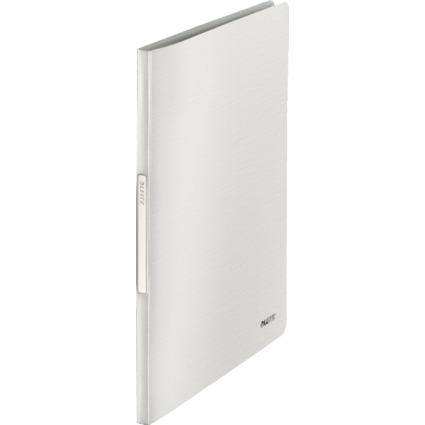 LEITZ Sichtbuch Style, A4, PP, mit 40 Hüllen, arktik-weiß