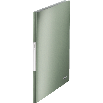 LEITZ Sichtbuch Style, A4, PP, mit 40 Hüllen, seladon-grün