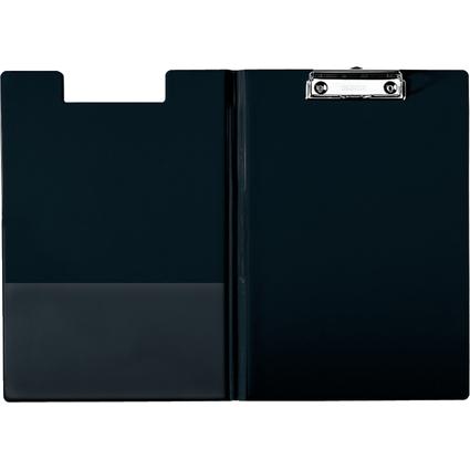 LEITZ Klemmbrett-Mappe, DIN A4, PP-Folie, schwarz