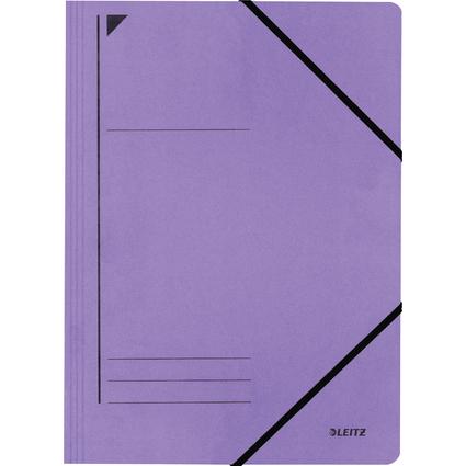LEITZ Eckspanner, DIN A4, Colorspankarton 450 g/m, violett