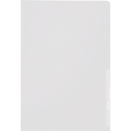 LEITZ Sichthülle extrastark, A4, PP, genarbt, 0,17 mm