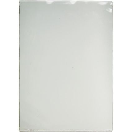 LEITZ Ausweishülle, PVC, 1-fach, 0,20 mm, Format: DIN A4