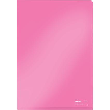 LEITZ Sichthülle Super Premium, A4, PVC, rot, 0,15 mm
