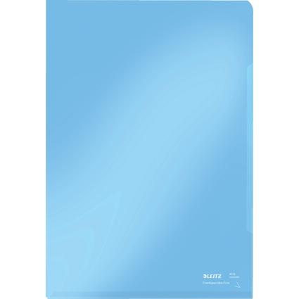 LEITZ Sichthülle Super Premium, A4, PVC, blau, 0,15 mm