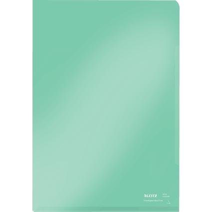 LEITZ Sichthülle Super Premium, A4, PVC, grün, 0,15 mm