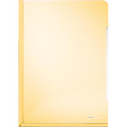 LEITZ Konferenz-Sichthülle, A4, PVC, gelb, 0,15 mm