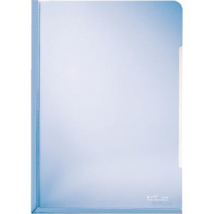 LEITZ Konferenz-Sichthülle, A4, PVC, blau, 0,15 mm