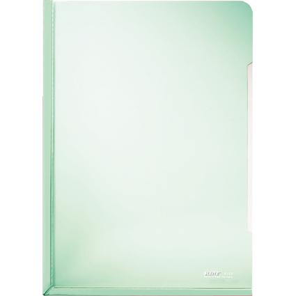 LEITZ Konferenz-Sichthülle, A4, PVC, grün, 0,15 mm