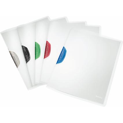 LEITZ Klemmhefter ColorClip, DIN A4, PP, Clip sortiert