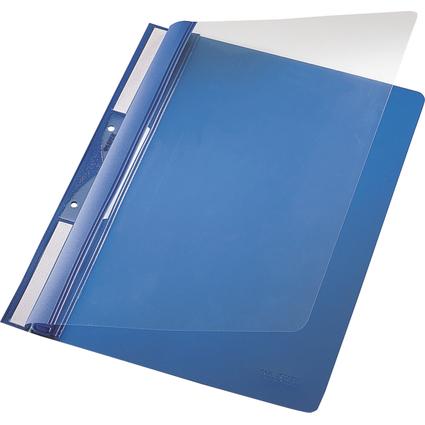LEITZ Einhänge-Schnellhefter Universal, DIN A4, PVC, blau