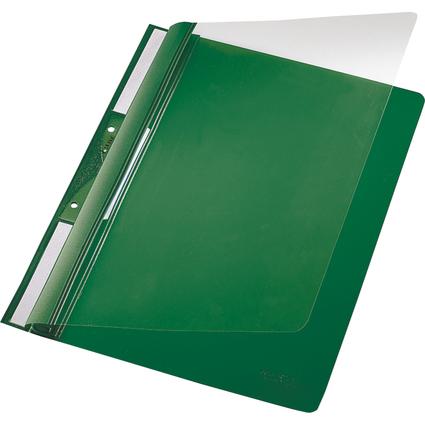LEITZ Einhänge-Schnellhefter Universal, DIN A4, PVC, grün