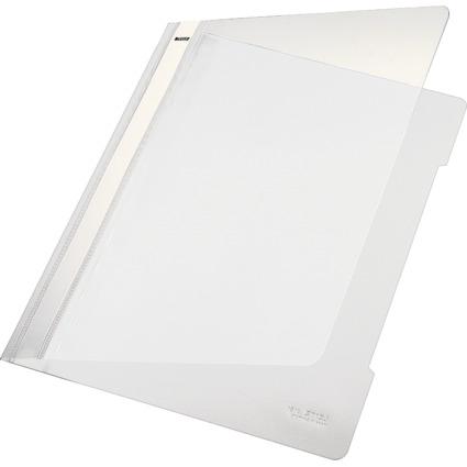 LEITZ Schnellhefter Standard, DIN A4, PVC, weiß