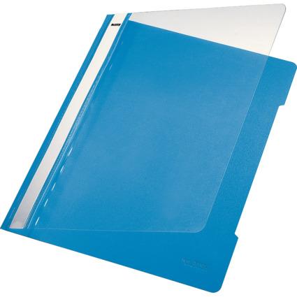 LEITZ Schnellhefter Standard, DIN A4, PVC, hellblau