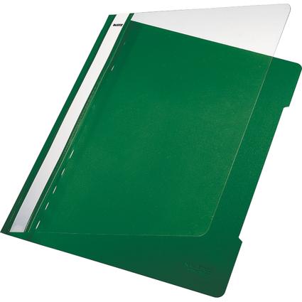 LEITZ Schnellhefter Standard, DIN A4, PVC, grün