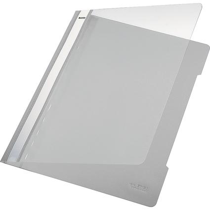 LEITZ Schnellhefter Standard, DIN A4, PVC, grau