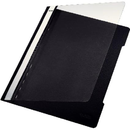LEITZ Schnellhefter Standard, DIN A4, PVC, schwarz