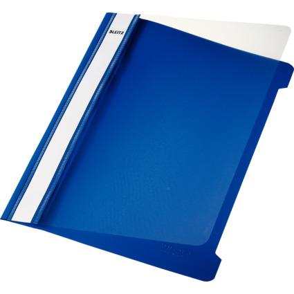 LEITZ Schnellhefter Standard, DIN A5, PVC, blau
