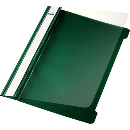 LEITZ Schnellhefter Standard, DIN A5, PVC, grün