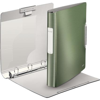 LEITZ Ringbuch Active Style SoftClick, A4, seladon-grün