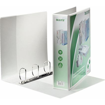 LEITZ Präsentations-Ringbuch, A4 Überbreite, weiß, 4 D-Ring